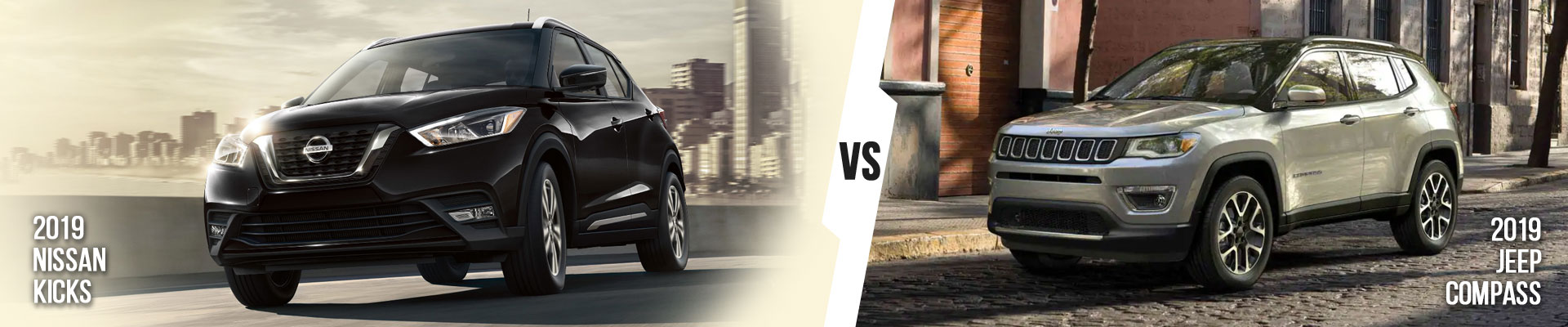 See The Differences Between The Nissan Kicks & Jeep Compass In Fort Myers
