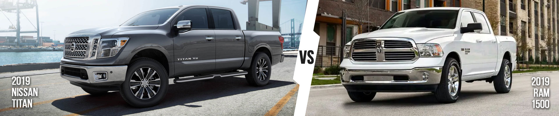 Compare The New 2019 Nissan Titan Pickup Truck Vs. Ram 1500 In Fort Myers, FL