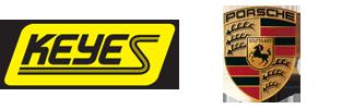 keyes porsche logo