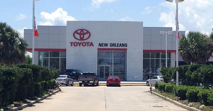 Toyota Of New Orleans >> New Toyota Used Car Dealer Near Metairie La Toyota Of New Orleans