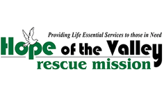 hope of the valley rescue mission logo