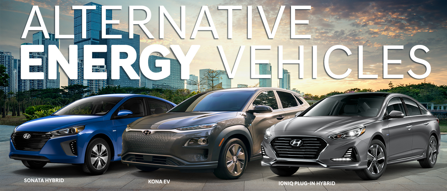 Alternative Energy Vehicles from Hyundai