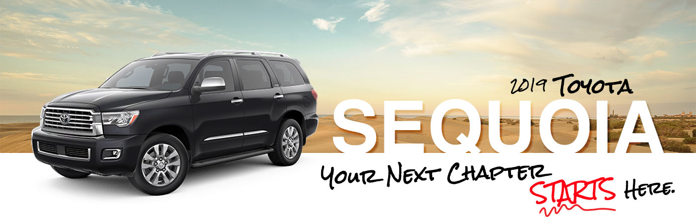All New 2019 Toyota Sequoia SUV Near Decatur, Illinois