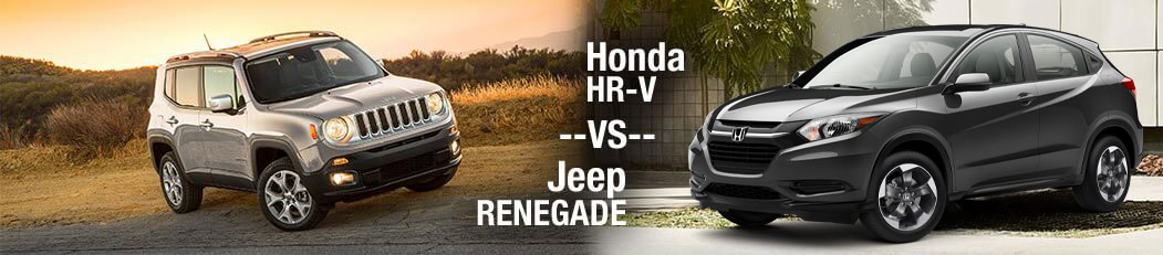 2018 Honda HR-V vs. 2018 Jeep Renegade