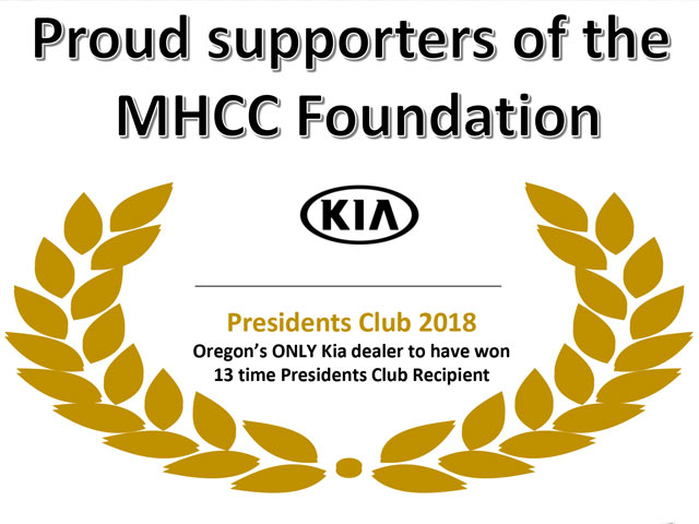 Proud Supporters of the MHCC Foundation