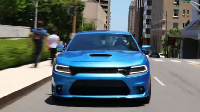 Dodge driving