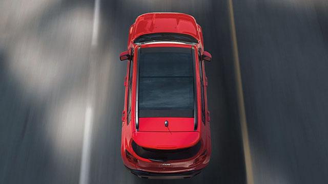 Dodge driving through Houma