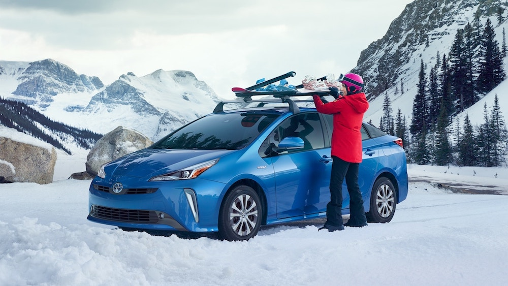 new 2019 Toyota Prius starting MSRP vs the competition