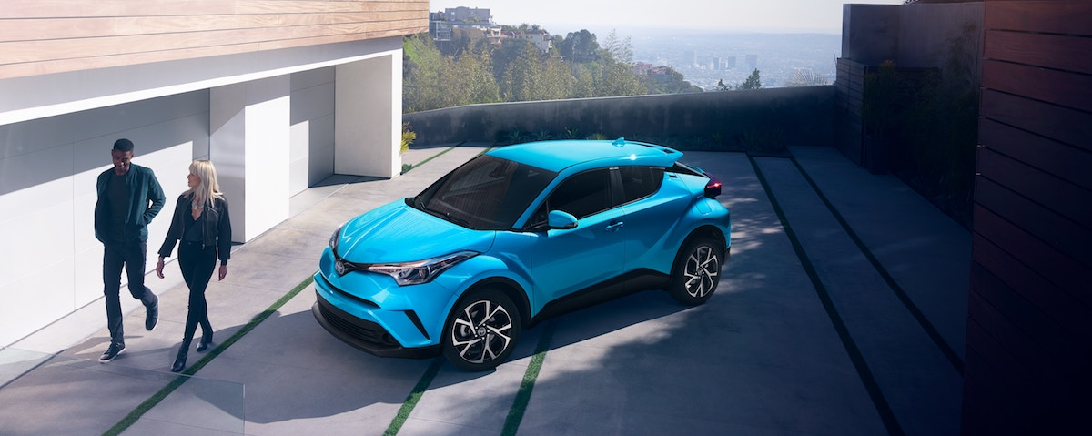 New 2019 Toyota C-HR crossover SUV for sale vs the competition at Ventura Toyota dealership near Oxnard