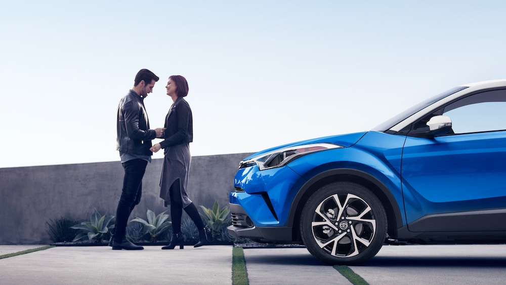 New 2019 Toyota C-HR maintenance warranty coverage vs the competition