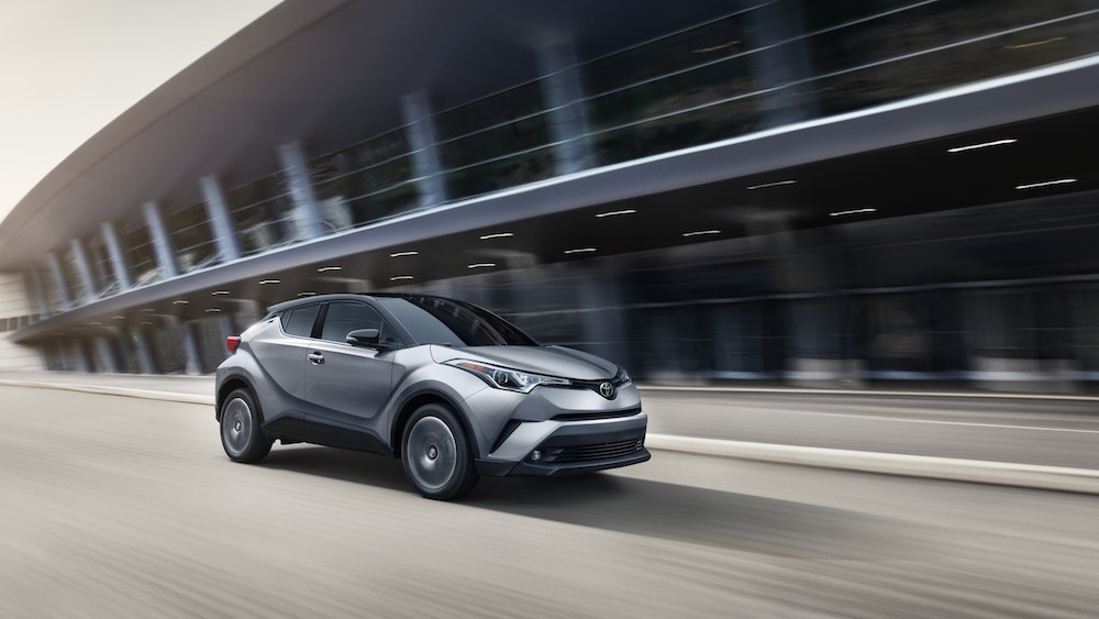 New 2019 Toyota C-HR horsepower vs the competition