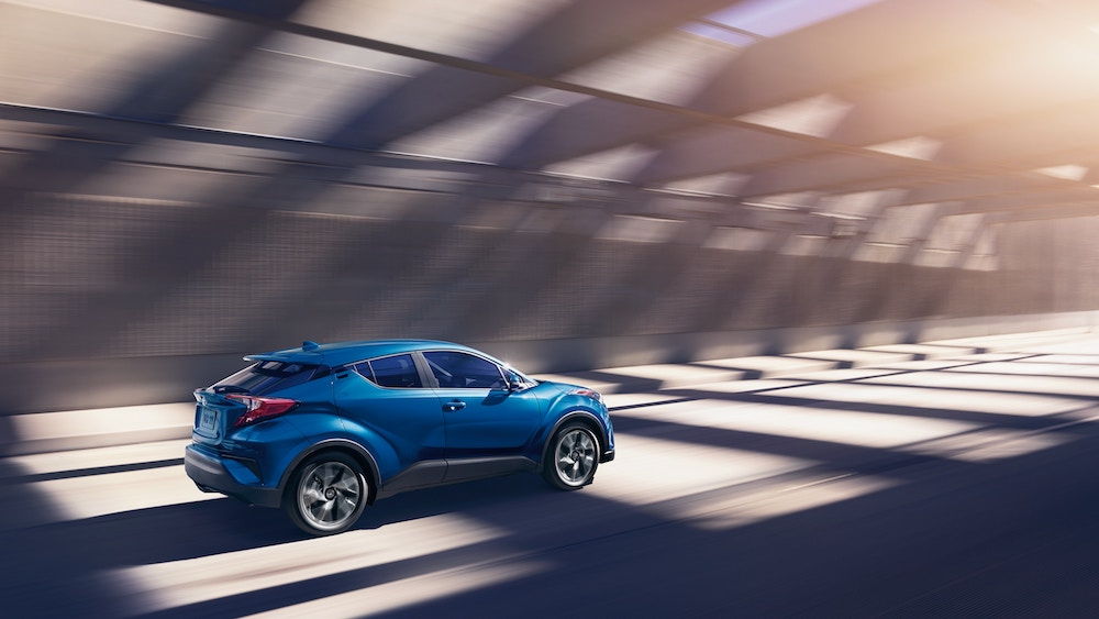 New 2019 Toyota C-HR pre-collision system vs the competition