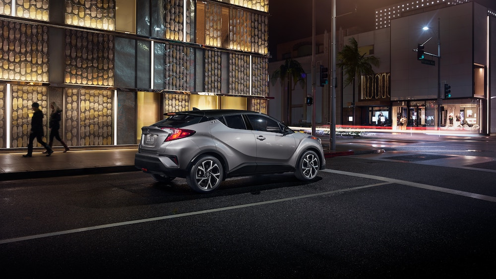 New 2019 Toyota C-HR starting MSRP vs the competition