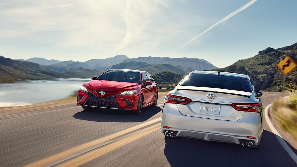New 2019 Toyota Camry maintenance warranty coverage vs competitors