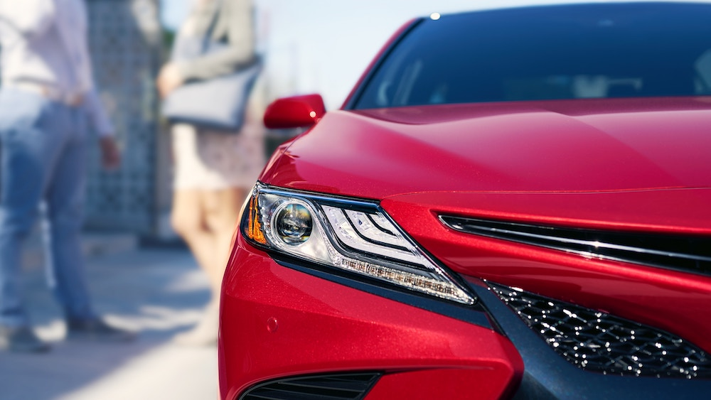 New 2019 Toyota Camry horsepower vs competitors