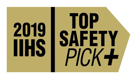 New 2019 Toyota Camry top safety pick award - IIHS