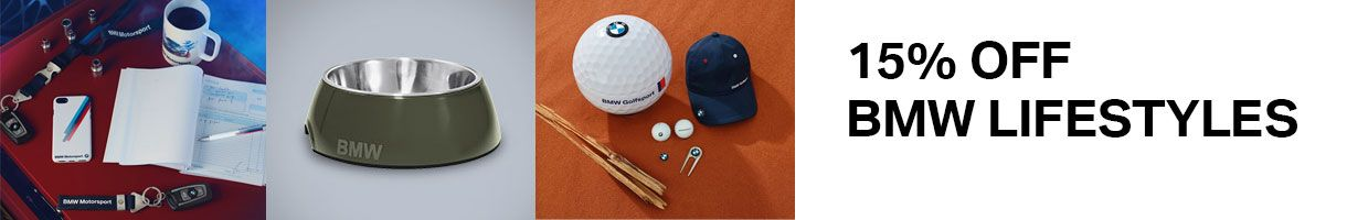 15% off BMW Lifestyles at Bloomfield BMW