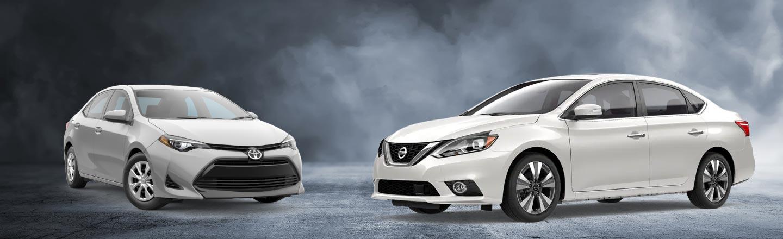 2019 Nissan Sentra vs. Toyota Corolla In Kingsport, TN