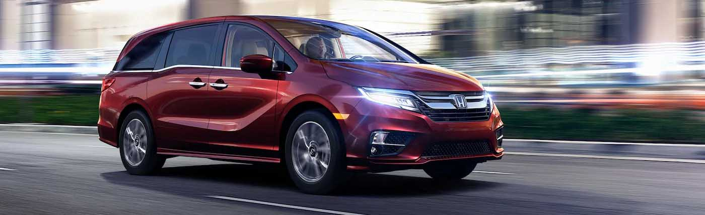 The New 2019 Honda Odyssey Minivan Available In Danville, Virginia