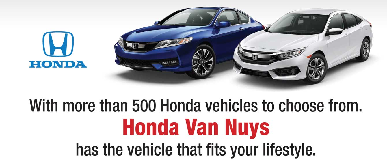 with more than 500 honda vehicles to choose from