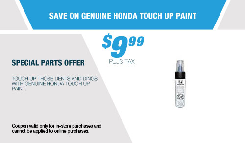 Save On Genuine Honda Touch Up Paint