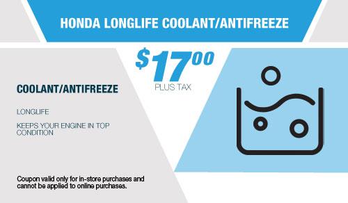 Honda Longlife Coolant/Antrifreeze