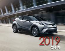 2019 toyota ch-r brochure
