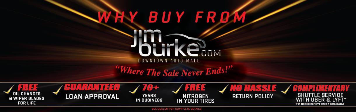 Used Cars Dealer in Birmingham, AL | Jim Burke Pre-Owned