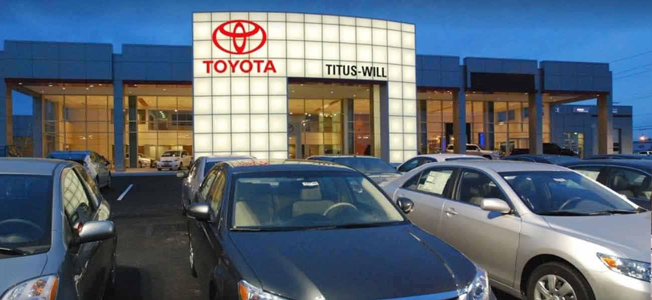 Welcome to Titus Will Toyota   Tacoma, WA