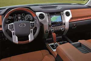 Toyota Tundra Interior Safety Features