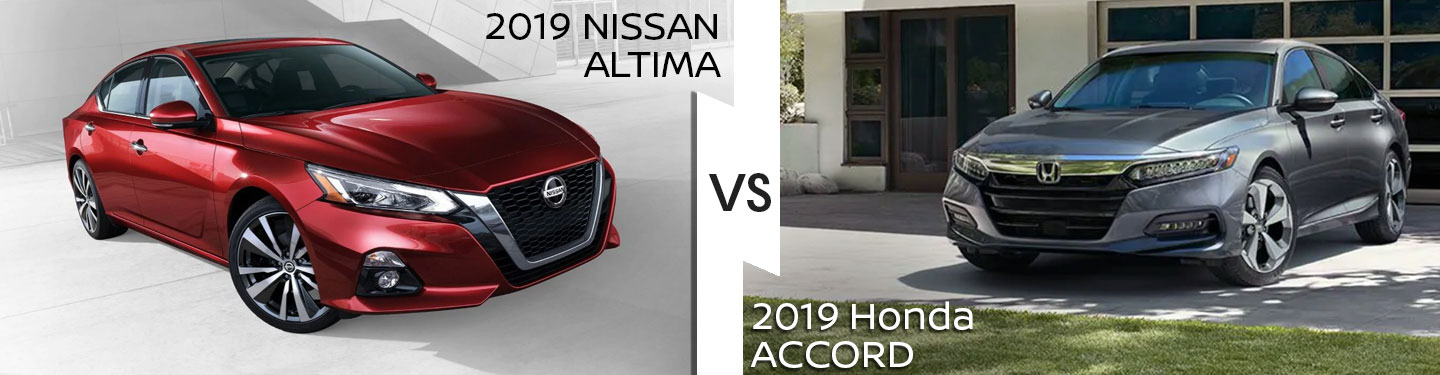 2019 Nissan Altima Vs. 2019 Honda Accord in Pompano Beach, FL