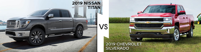 2019 Nissan Titan Vs. 2019 Chevrolet Silverado 1500