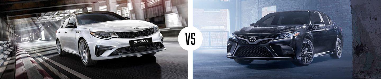 Kia Optima vs. Toyota Camry in Huntsville, AL   University Kia