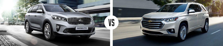 2019 Kia Sorento vs. Chevy Traverse in Huntsville, AL | University Kia