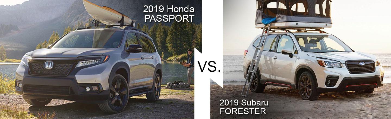 2019 Honda Passport Vs Subaru Forester In Burlington, NJ l Davis Honda
