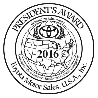 2016 presidents award