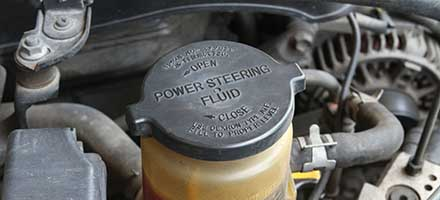 Power Steering Fluid Exchange