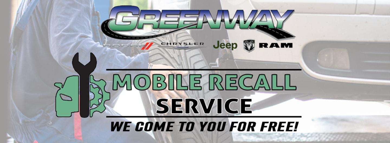 Greenway CDJR | Mobile Recall Service