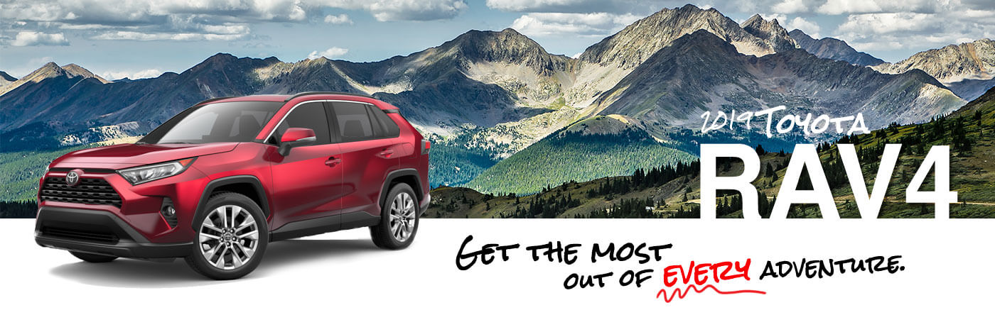 The New 2019 Toyota Rav4 in Everett, WA