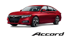 New Red Honda Accord Vehicle Exterior