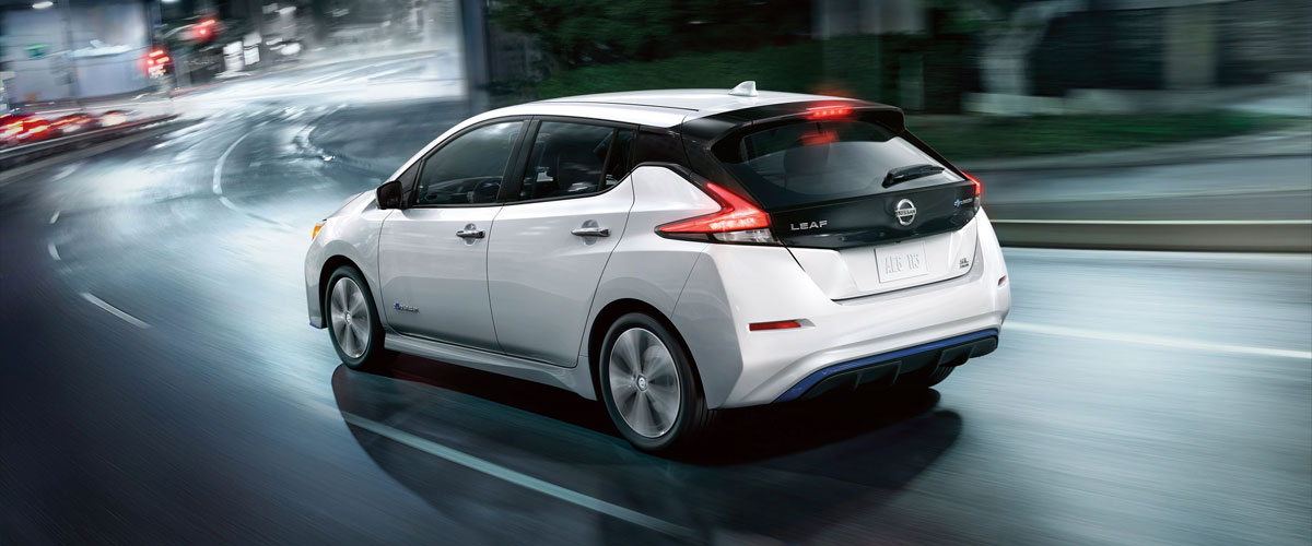 2019 Nissan LEAF Header