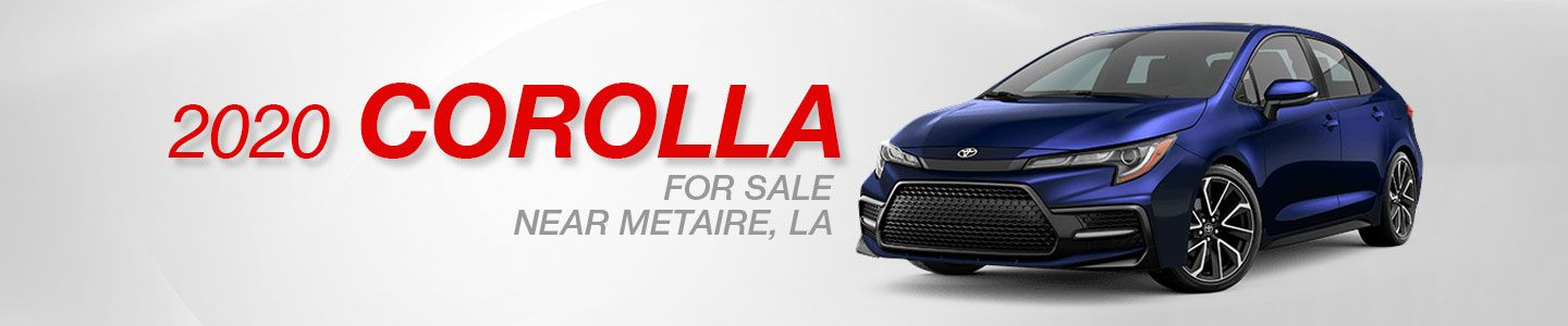 All-New 2020 Toyota Corolla For Sale in Metairie, LA