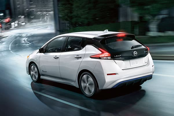 2019 Nissan LEAF Design, Interior Features & Technology