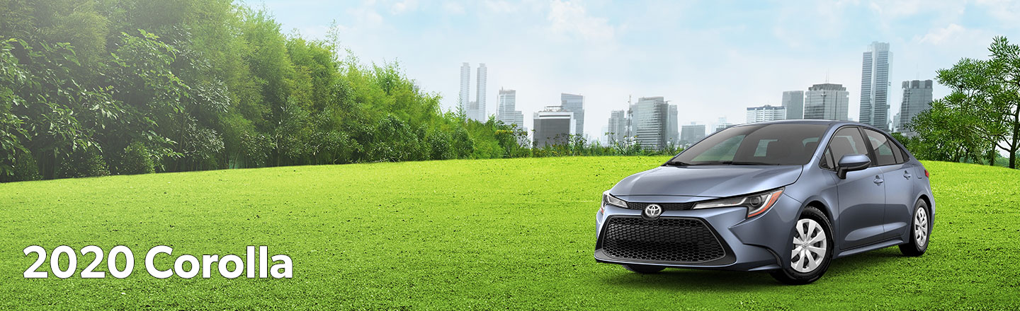 all-new 2020 Toyota Corolla at Oakes Toyota
