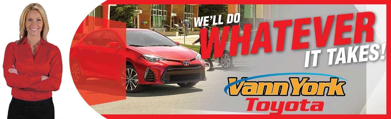 Toyota Dealerships In Nc >> Toyota Dealer Near Greensboro Winston Salem Nc Vann York