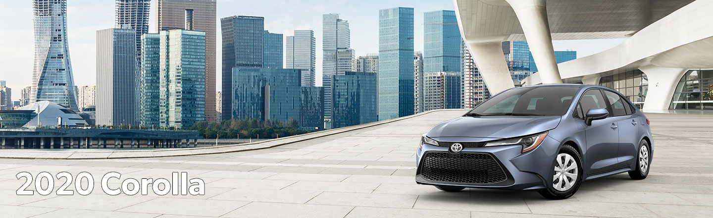 Explore Greeley, CO In The New 2020 Toyota Corolla