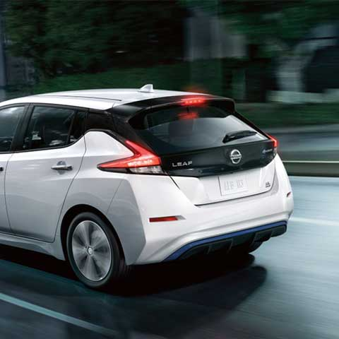 2019 Nissan Leaf Rear Exterior