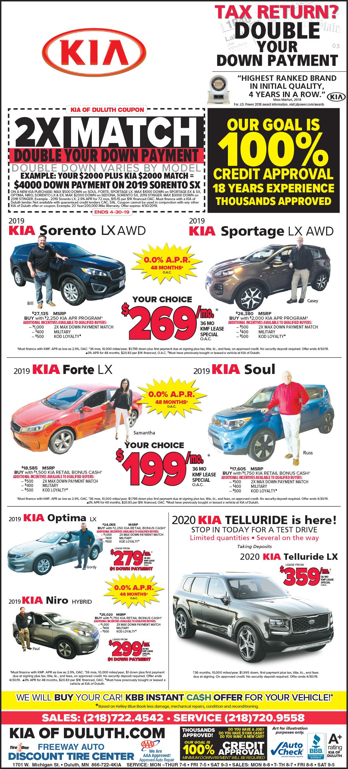 Kia Of Duluth >> Kia Of Duluth Auto Car Reviews 2019 2020
