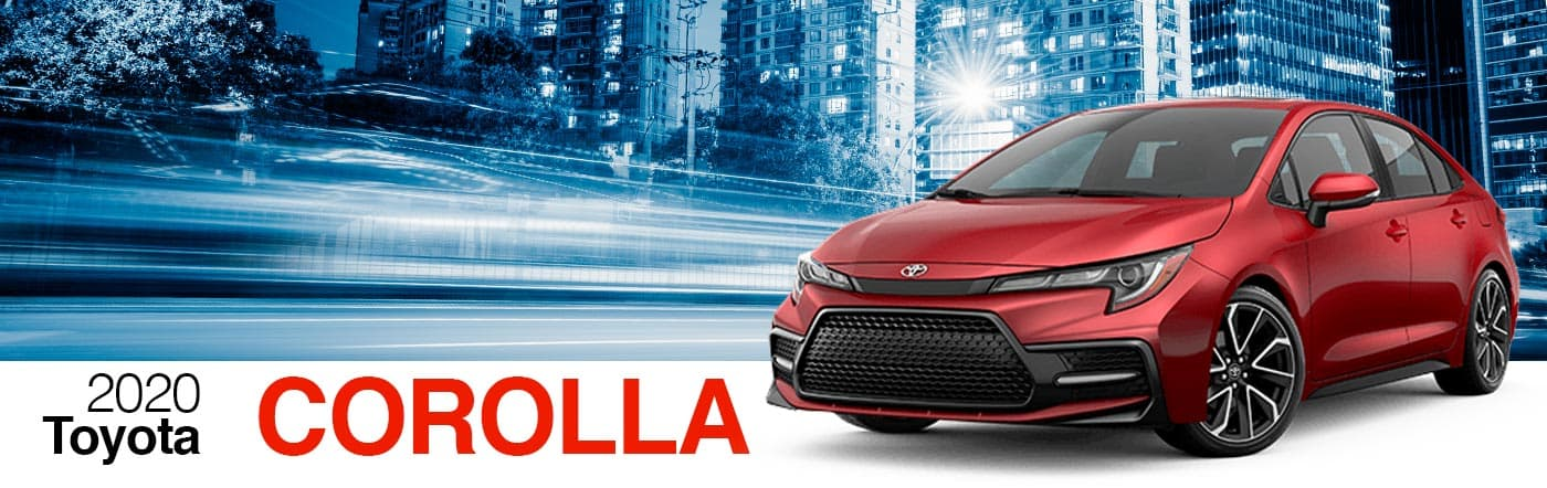 2020 Gray Exterior Corolla On Road at Stevinson Toyota