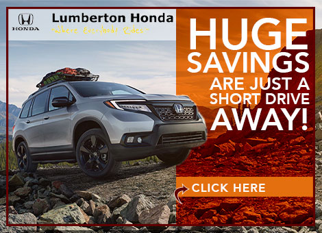 Lumberton Honda l Honda Dealership near Fayetteville North